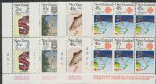 SG 1303-4,1306-7 Commemorations 1983 plate blocks of 6 (NF1/198)